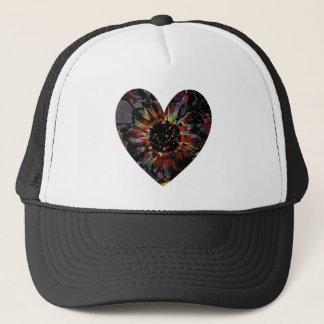 Black Sunflower Trucker Hat