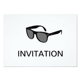 Black Sunglasses Invitation