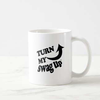 Black Swag Up Mug