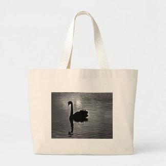 Black Swan - Australian Native Animal Jumbo Tote Bag