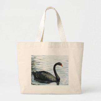 """Black Swan"" Bird Art Bag"