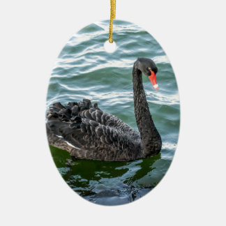 Black Swan Christmas Ornament