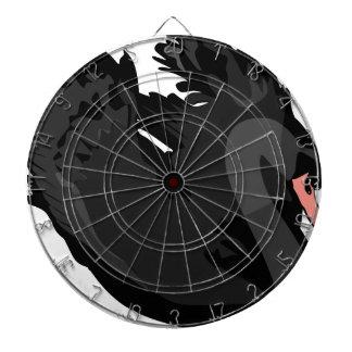black swan dartboard