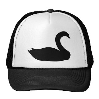 black swan icon cap