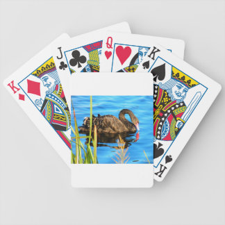 Black Swan O'brein's Bridge, Ireland Bicycle Playing Cards