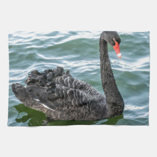 Black Swan Tea Towel