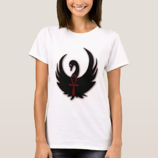 Black Swan with Ankh T-Shirt