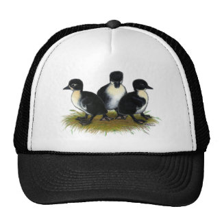 Black Swedish Ducklings Cap
