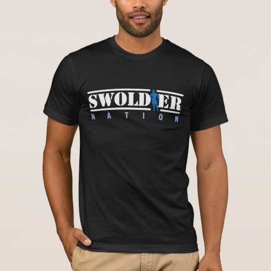 Black Swoldier Nation T-shirt