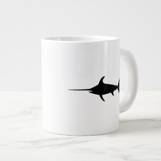 Black Swordfish Large Coffee Mug