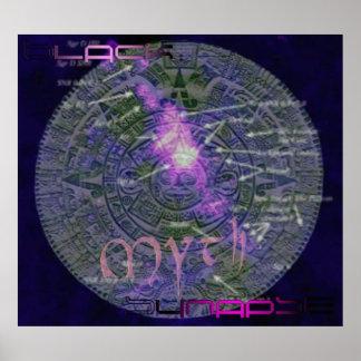 Black Synapse Myth Poster