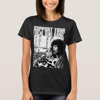 Black t-shirt Feminine Feminist Ativismo