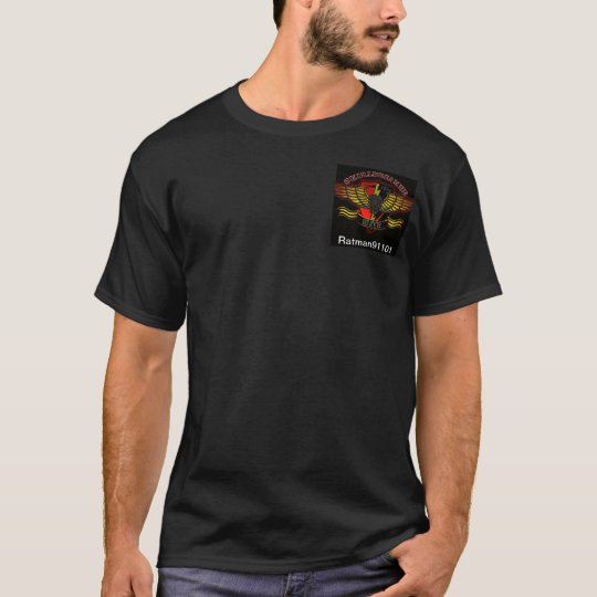 Black T-shirt with SBS logo/callsign