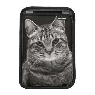 Black Tabby Kitten iPad Mini Sleeve