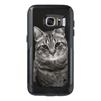 Black Tabby Kitten OtterBox Samsung Galaxy S7 Case