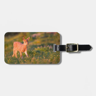Black-tailed Deer fawn Luggage Tag