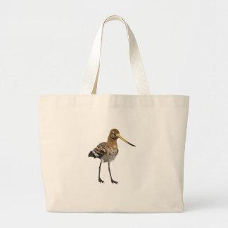 Black-Tailed Godwit Jumbo Tote Bag