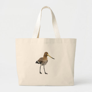 Black-Tailed Godwit Large Tote Bag
