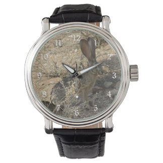 Black-tailed Jackrabbit Wrist Watch