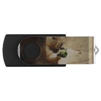 Black Tailed Prairie Dog Swivel USB 2.0 Flash Drive