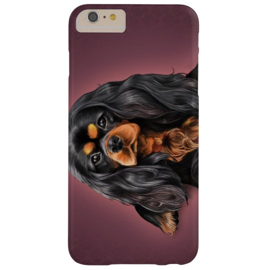 Black & Tan Cavalier King Charles Iphone Case