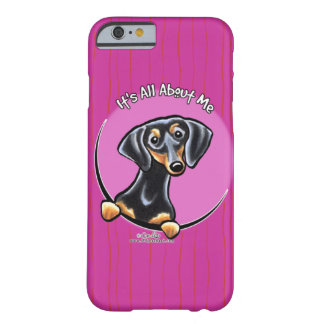 Black Tan Dachshund IAAM Barely There iPhone 6 Case