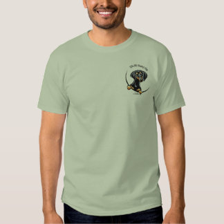 Black Tan Dachshund Its All About Me Tee Shirt