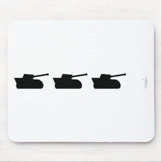 black tanks icon mouse pad
