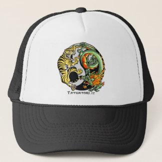 Black Tao Battle Trucker Hat
