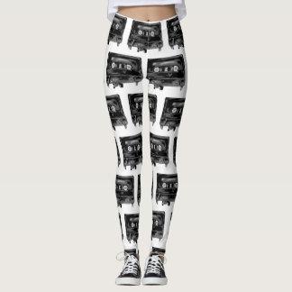 Black Tape Leggings