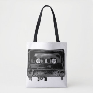 Black Tape Tote Bag
