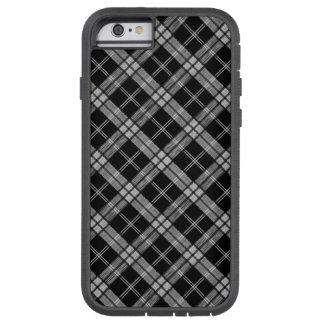 Black Tartan Tough Xtreme iPhone 6 Case