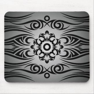 Black Tattoo Tribal 1 | black fadeIN Mouse Pad