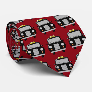 Black Taxi Design Tie