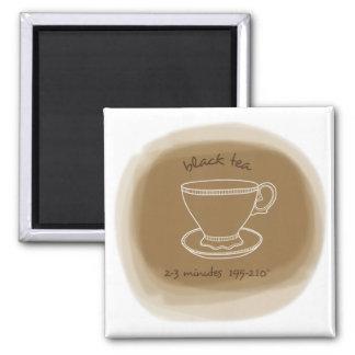 Black Tea Magnet