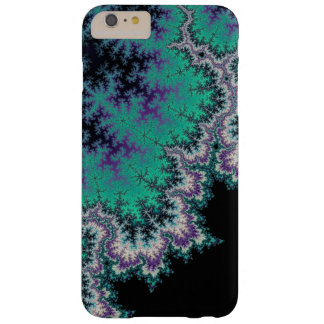 Black, Teal and Purple Fractal iPhone 6 Plus Case