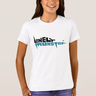 Black/Teal Logo Front and Back T-Shirt
