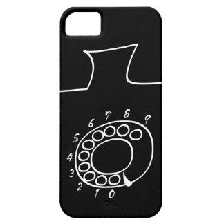 Black telephone iPhone 5 cases