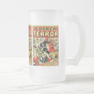 Black Terror Comic Mug