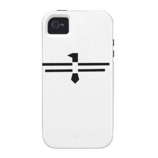 Black Thunderbird iPhone 4/4S Cover