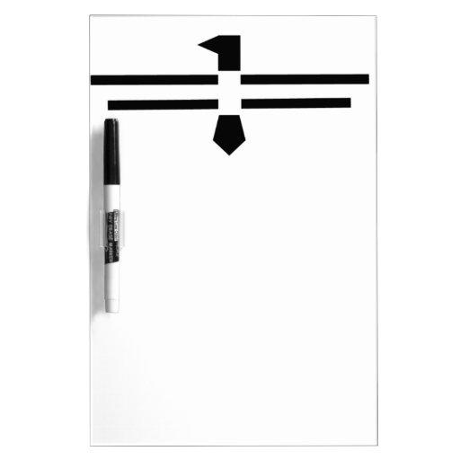 Black Thunderbird Dry Erase Whiteboard