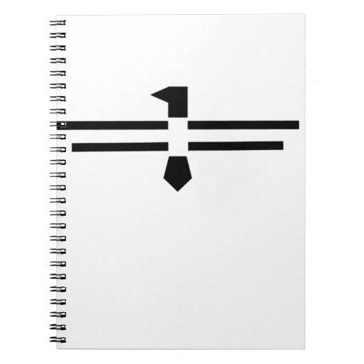 Black Thunderbird Spiral Note Book