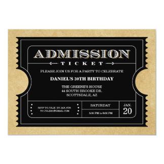 Ticket Invitations & Announcements | Zazzle.co.uk