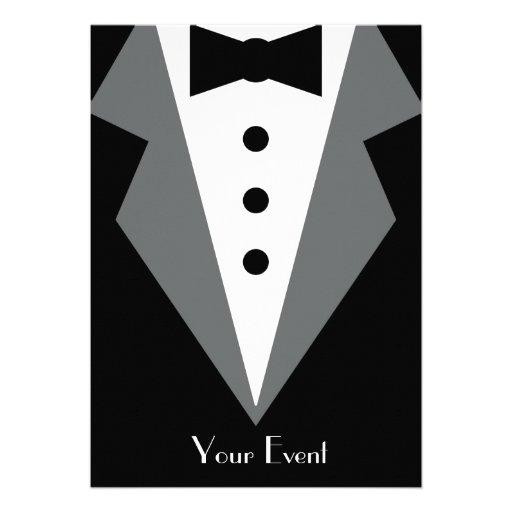 Black Tie Affair Personalized Invite