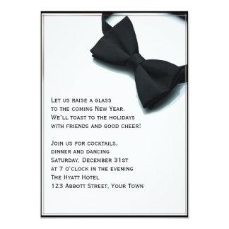 Black Tie Affair New Years Eve 13 Cm X 18 Cm Invitation Card