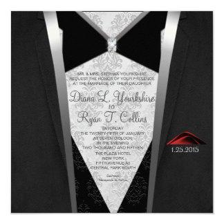 Black Tie Diamond Invitation