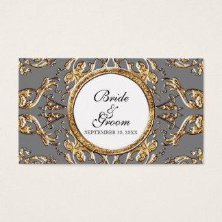 Black Tie Elegance 2 - Wedding Favor Gift Tags