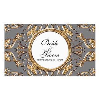 Black Tie Elegance 2 - Wedding Favor Gift Tags Pack Of Standard Business Cards