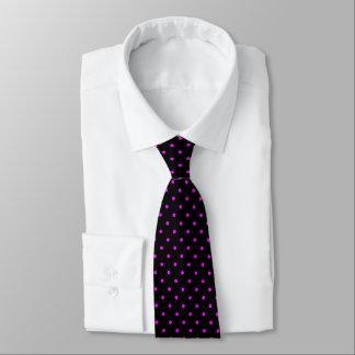 Black Tie Pink Polka Dots