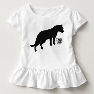 Black Tiger Branded Toddler T-Shirt